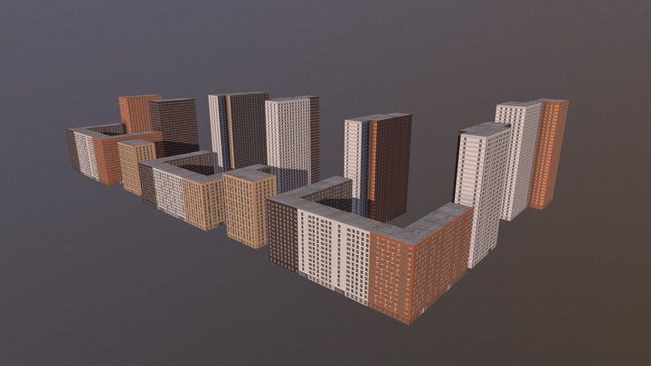 Mihailovskiy Obj 3D Model