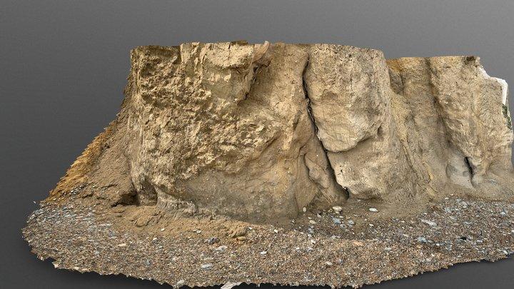 Cromer cliff base, Norfolk 3D Model