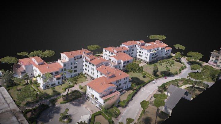 Condominio Tamerici 3D Model