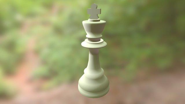 Model Raja Catur 3D Model
