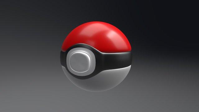 Pokeball 3D Model