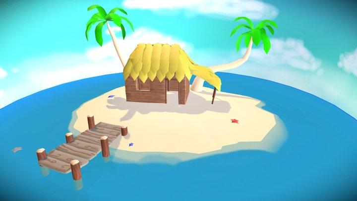 Personal Island WIP 3D Model
