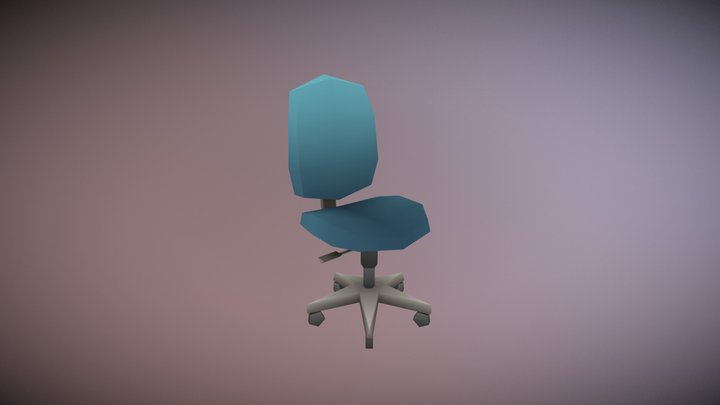 Chair - Household Props Challenge 3D Model