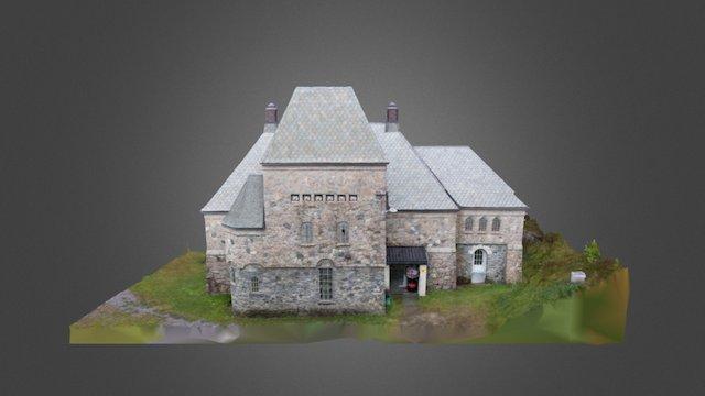Longerak kraftstasjon - medium detail 3D Model