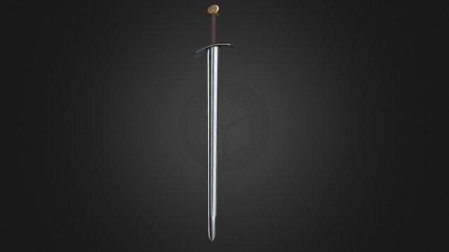 Sword Roman 3D Model