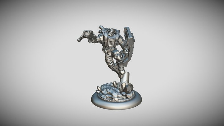 Star Scrappers: Terron Vindicator 3D Model