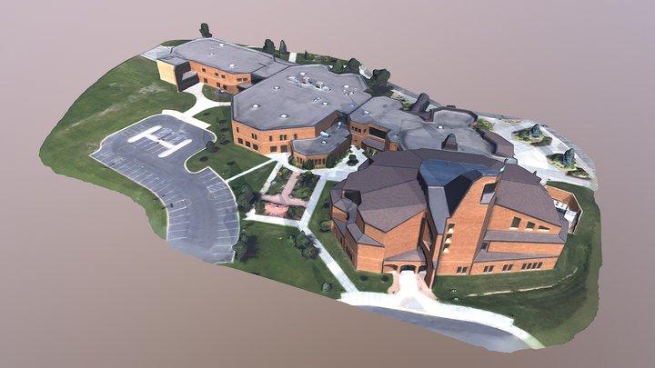 All Saints Church 3D Model