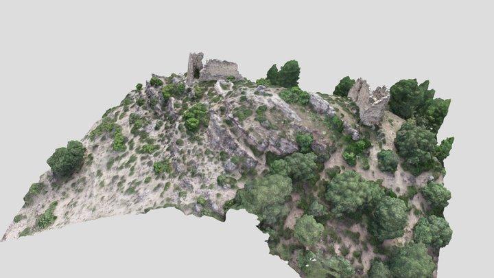 Castillo de Vegallera 3D Model