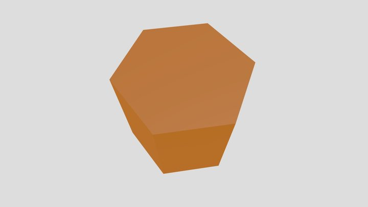 Siderite 3D Model