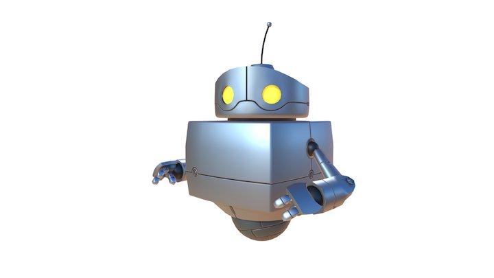 Cartoony Robot 3D Model