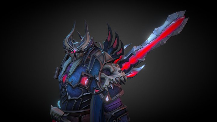 Dread Knight Odin 3D Model