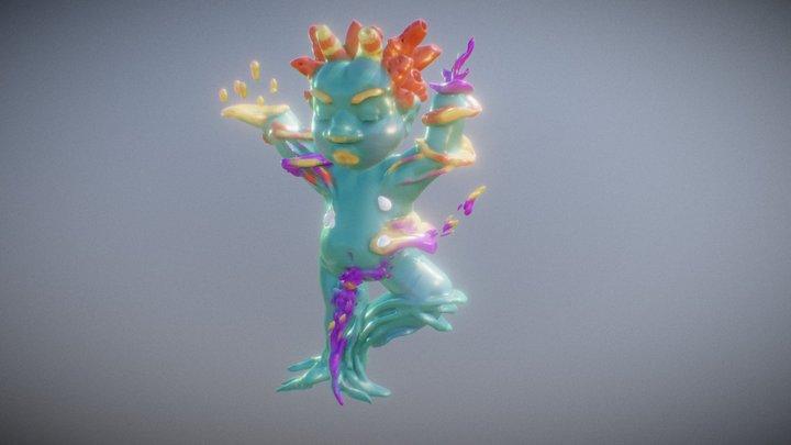 Coral Boy 3D Model