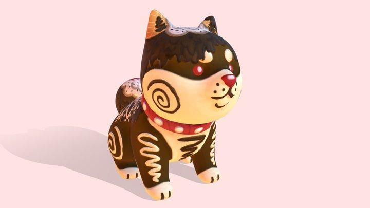 Choco Shiba 3D Model