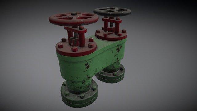 Ship Valve 3D Model