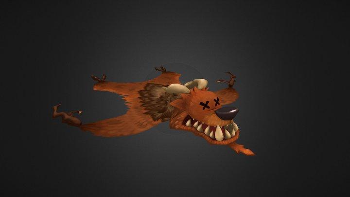 Bear Rug 3D Model