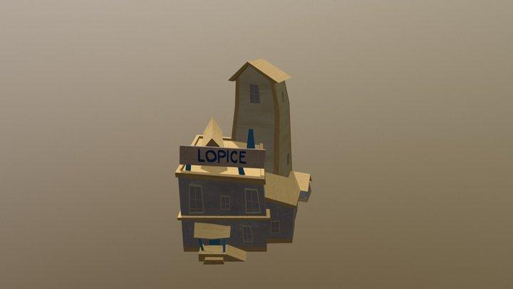 Hello Neighbor - Police Station 3D Model