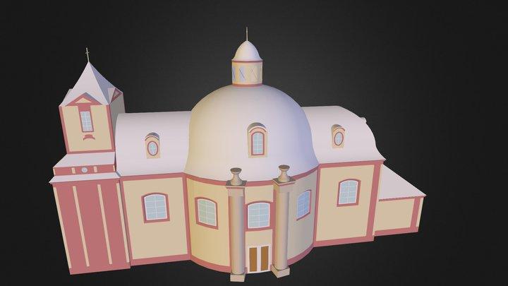 Kostel sv. Jakuba Staršího 3D Model