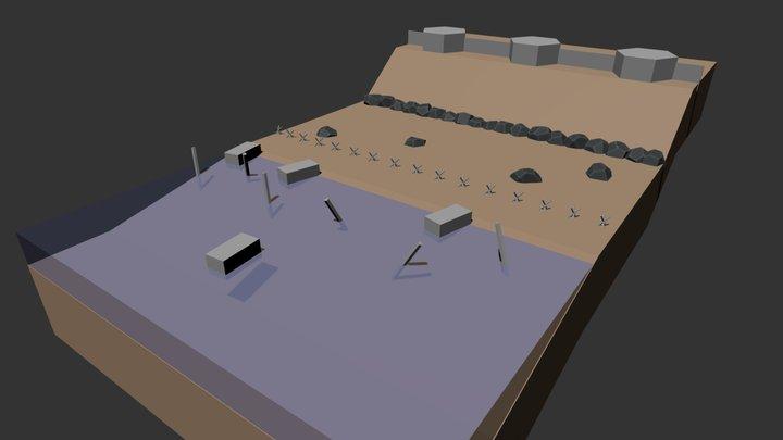 Mini D-DAY ver.1 3D Model