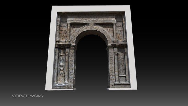 La Porte Noire - Besançon 3D Model