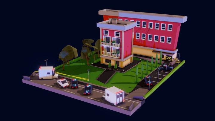 Long Sighted Level Design 3D Model