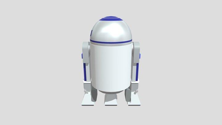 R2d2 draft 3D Model