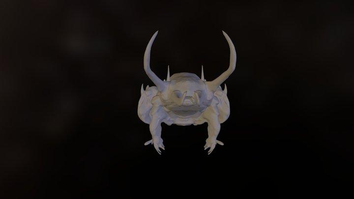 Beetle With Colour 3D Model