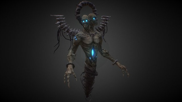 Creature_004 final 3D Model