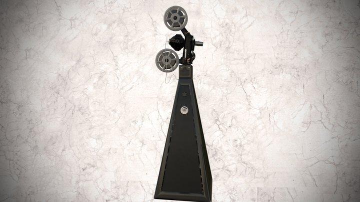 Proyector Óptica de 35mm 3D Model
