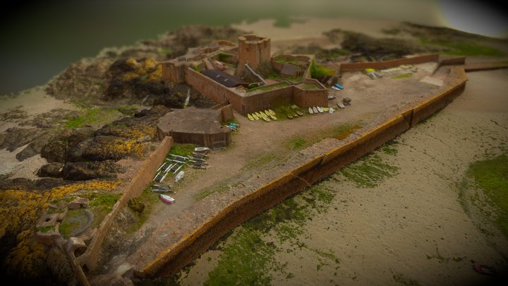 St Aubins Fort G2016 - Draft 3D Model