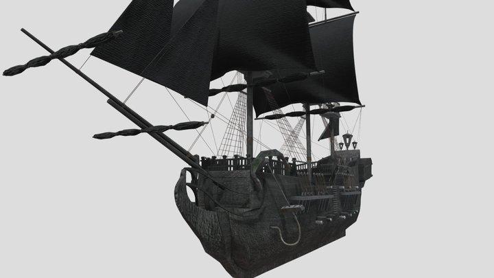 The Black Pearl 3D Model
