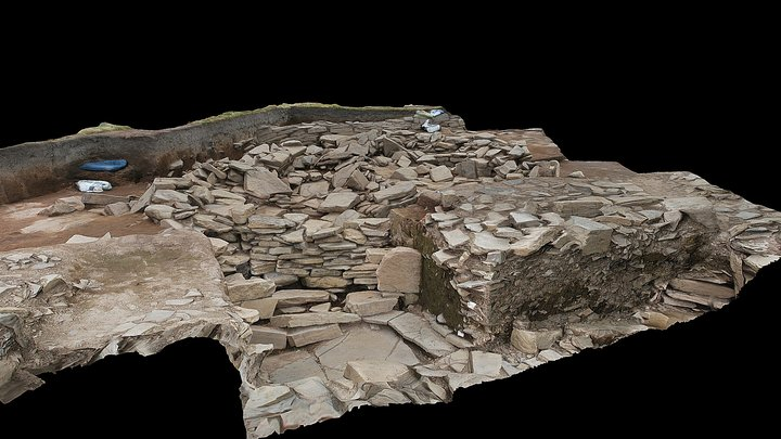 Structure 26 at the Ness of Brodgar 3D Model