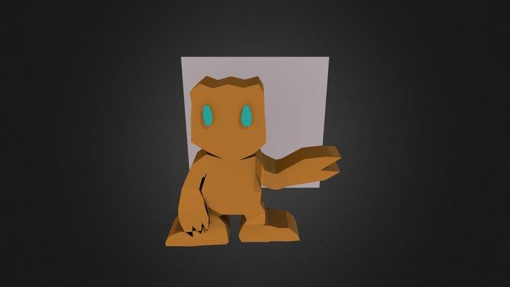 Trabalho de Modelagem 3d 3D Model
