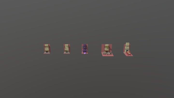XYZ Homework: Second Forms Rework 3D Model