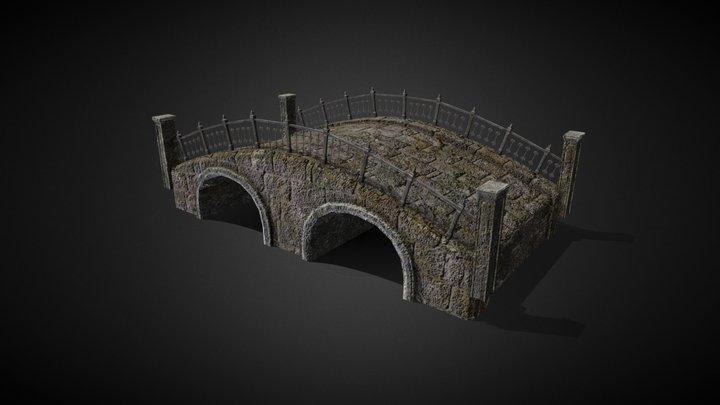Old Bridge 3D Model