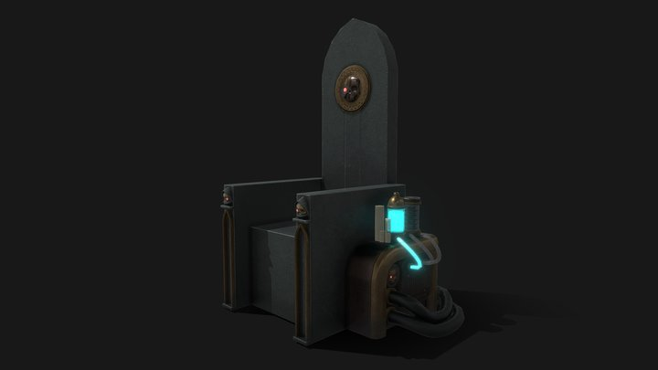 Mechanicus Throne 3D Model