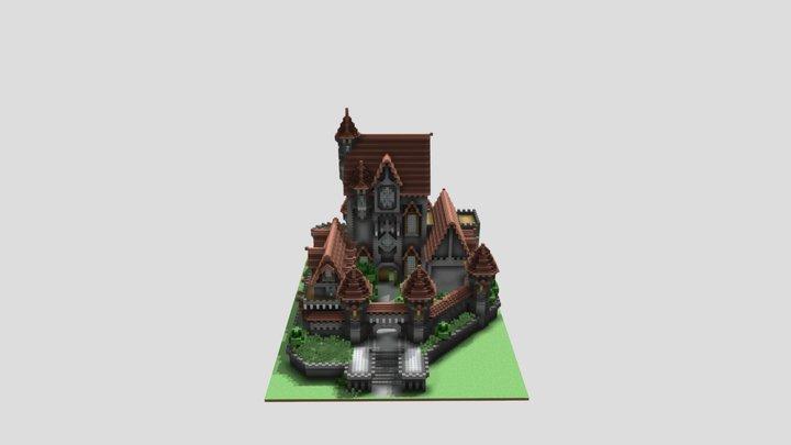 castle-1 3D Model