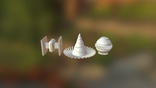 Mesh-modeling Fundamentals Exercise 3D Model
