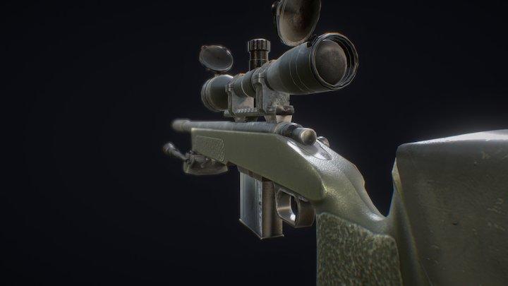 M40 A3 RIG 3D Model