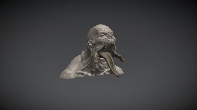 Ghoul 3D Model