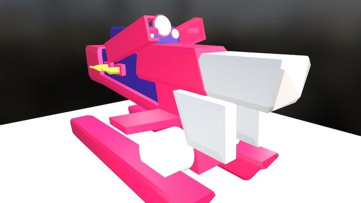 Banana Powered Monkey Engine 3D Model