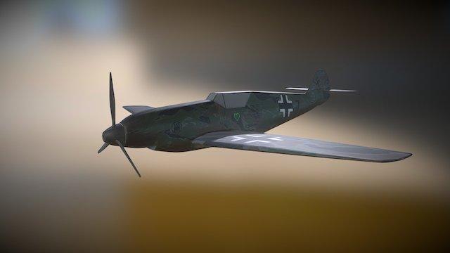 BF-109 3D Model