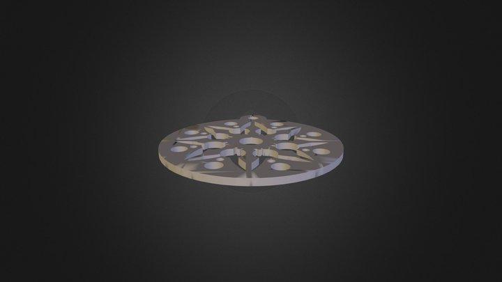 תליון גיא ברדה01 3D Model