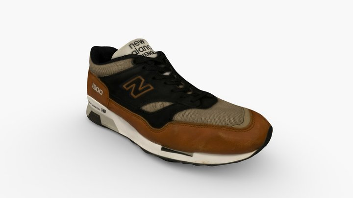 New Balance Made in UK 1500 3D Model