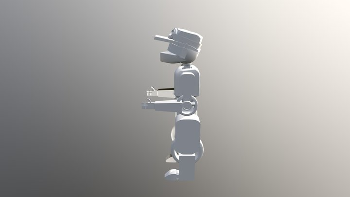 Robot Player 3D Model
