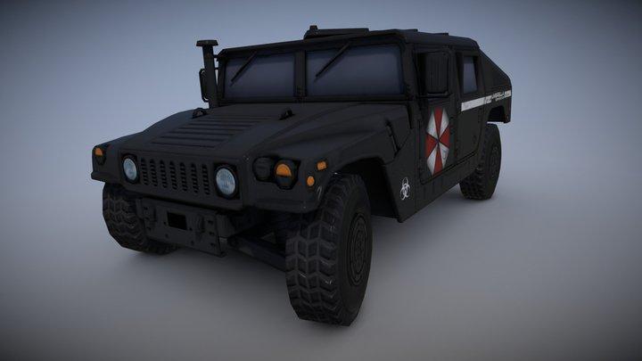 Humvee M1045 UMBRELLA CORPORATION 3D Model