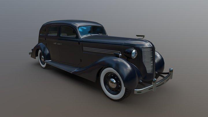 Vehicle ZIS-101 3D Model