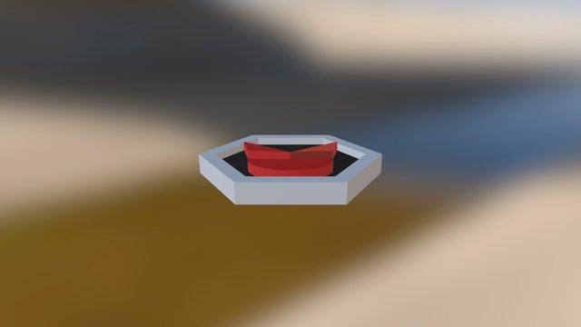 Dark Badge 3D Model