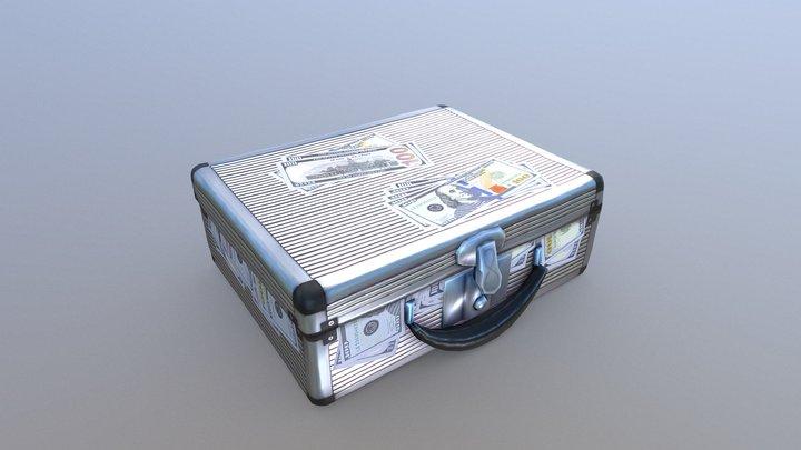 Suitcase Full of Money - #SuitcaseChallenge 3D Model