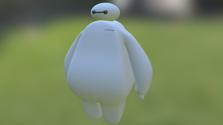 Portafolio 1 SURFACE - BAYMAX 3D Model