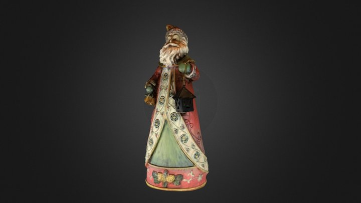 St. Nicholas scanned with a DYI < $50 Turntable 3D Model